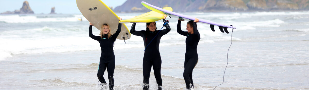 Surf Lessons In Seaside