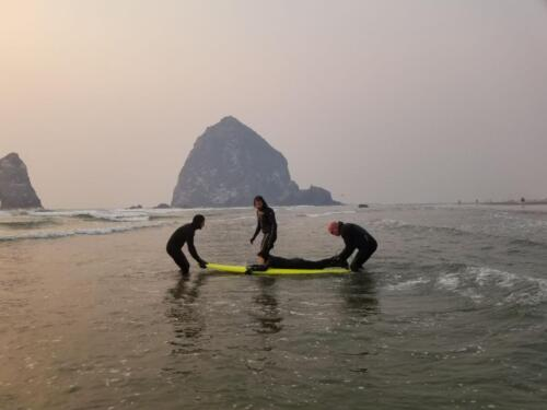 Adaptive Surf Lessons