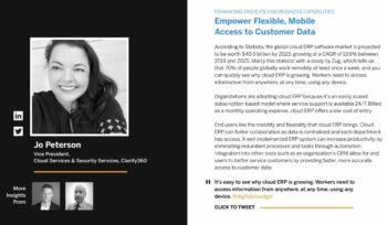 Jo Peterson Clarify350 discusses Cloud ERP
