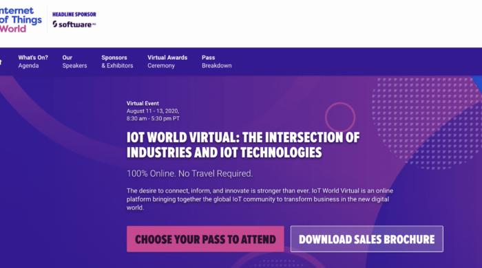 Clarify360 Jo Peterson moderates IoTWorld virtual edge computing August 11, 2020