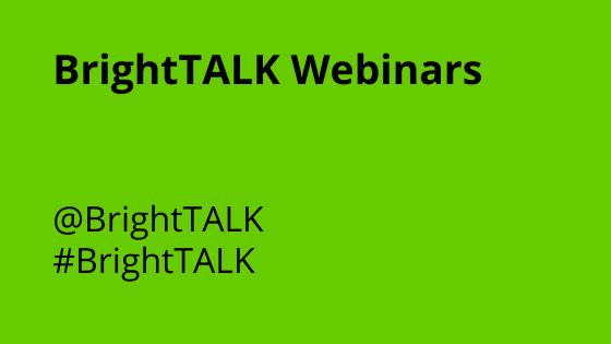 clarify360 BrightTALK webinars