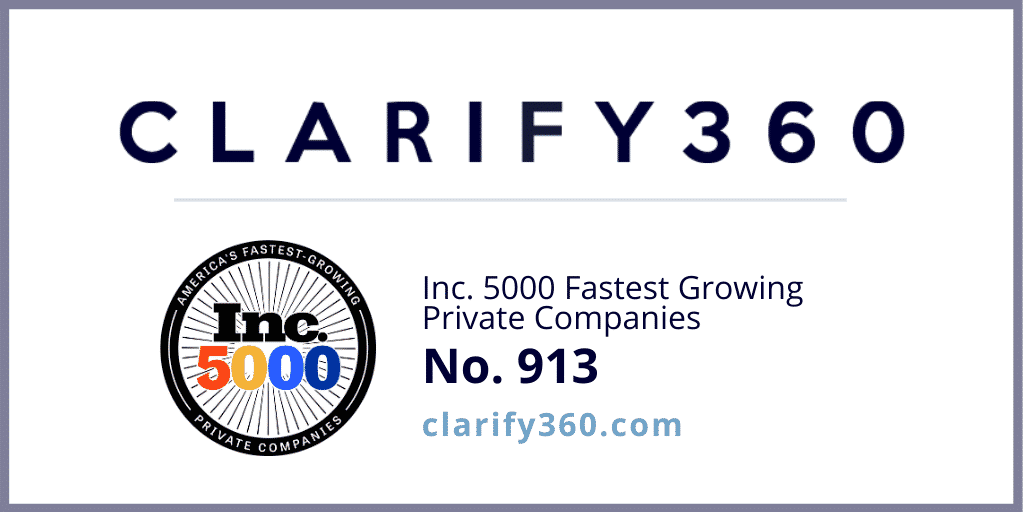 Clarify360 earns Inc. 5000 recognition