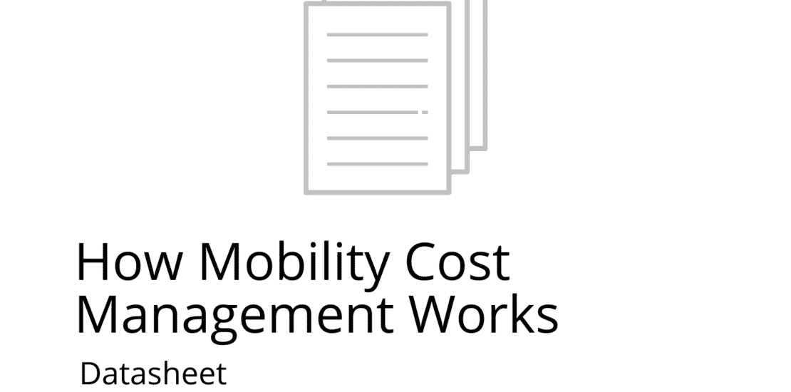 how mobility cost mgmt works