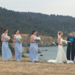 wedding at Warner Point