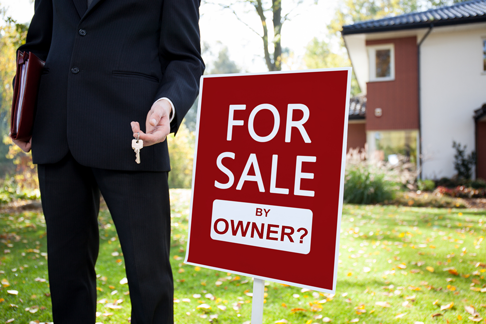 For Sale by Owner (FSBO) Versus For Sale by Real Estate Agent
