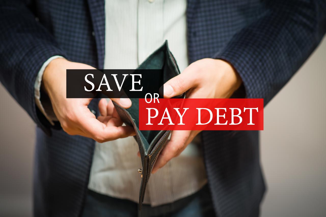 Should I Pay Back Debt or Start Saving?