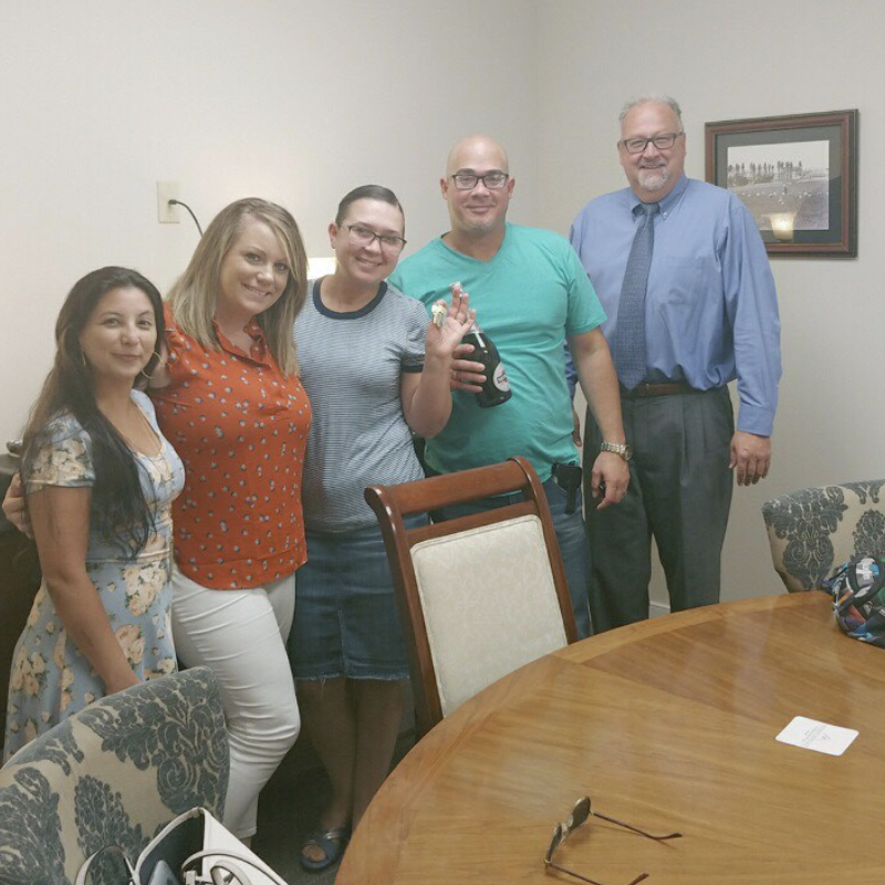 Keystone Alliance Mortgage Customer closes on his new home