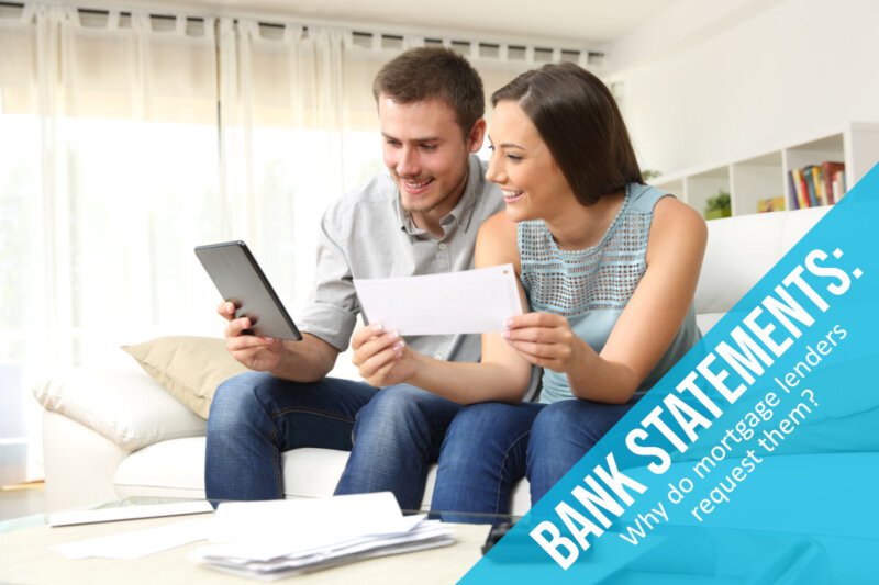 Bank Statements For Mortgages