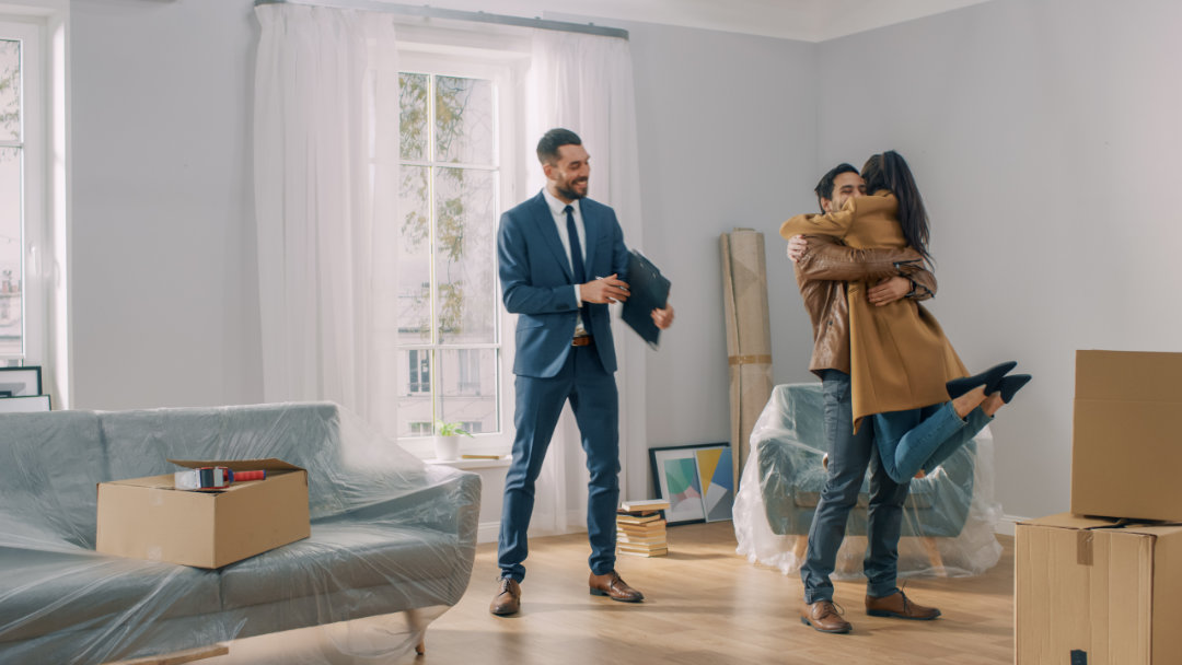 Fist-time home buyer program users get new home