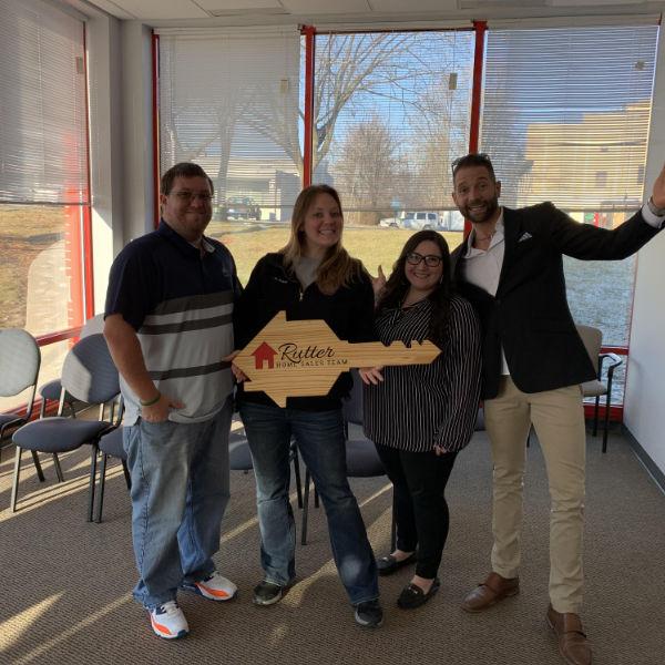 Keystone Alliance Mortgage Happy Customer closes on new home