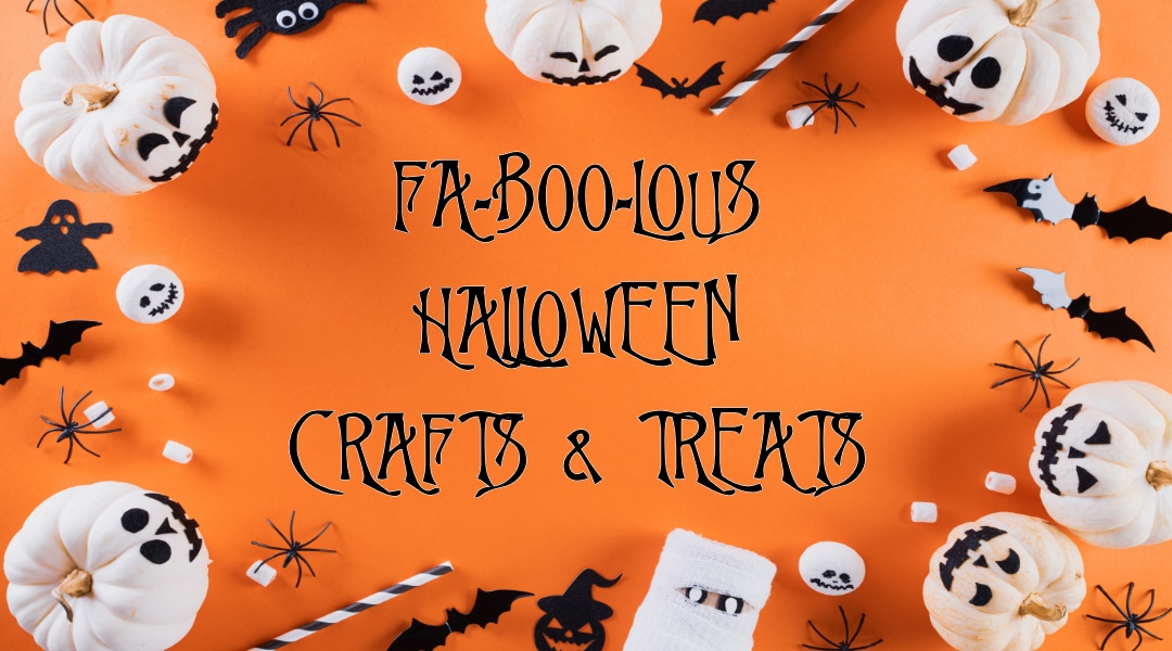 halloween crafts and baked goods