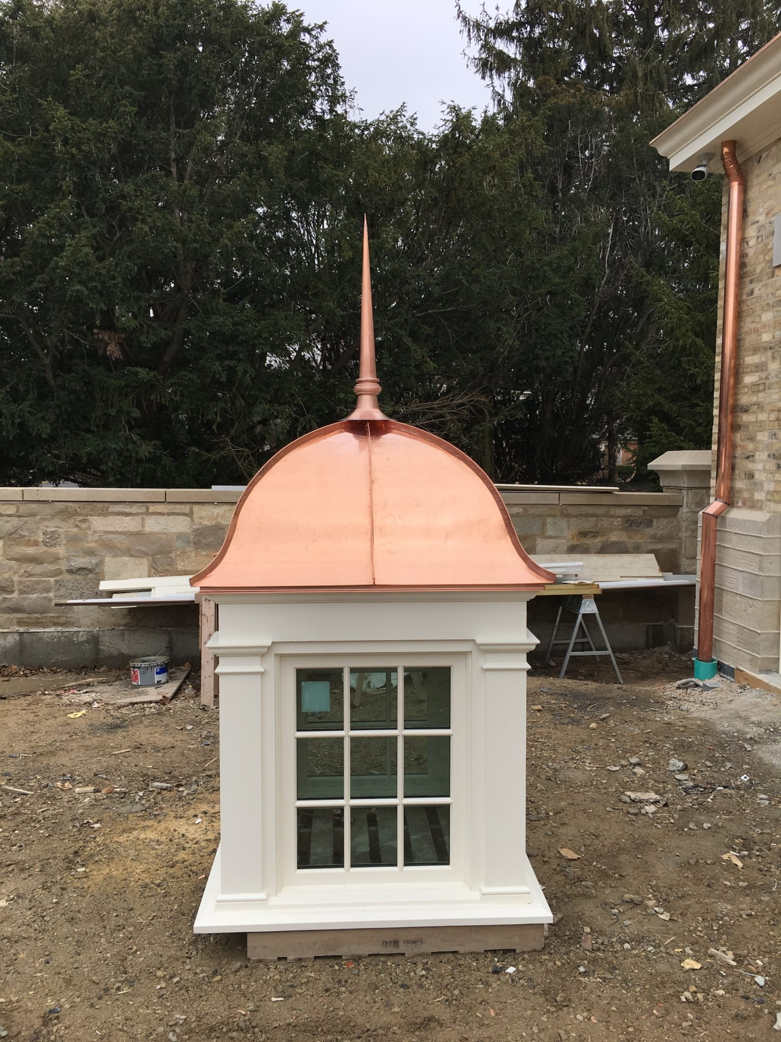 Cupola with Finial Spire