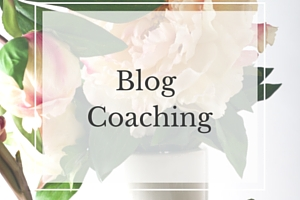 Blog Coaching