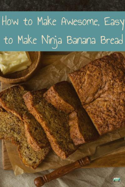 Pinterest Board image of banana bread