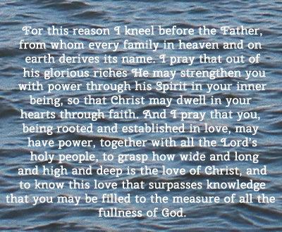 Ephesians 3:14