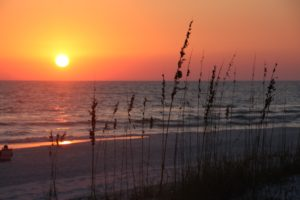 Sunset view of the 30a Community Grayton Beach