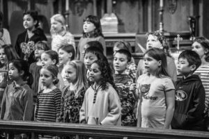 Columbia Youth Choir Rehearsal 2-6-14