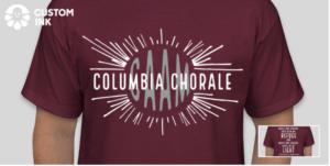 Columbia Chorale T-Shirt Fundraiser