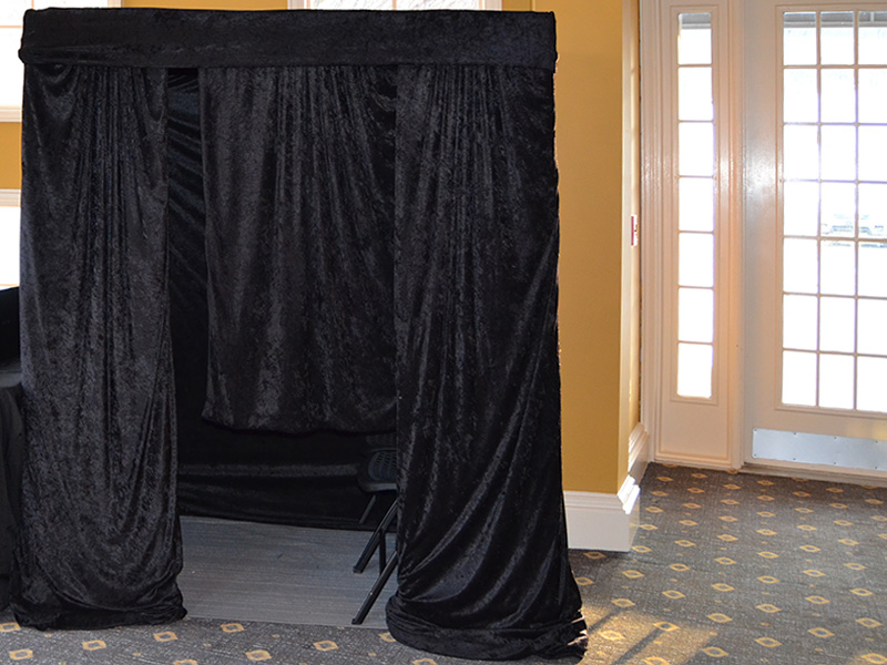 Photobooth Setup Example in Venue