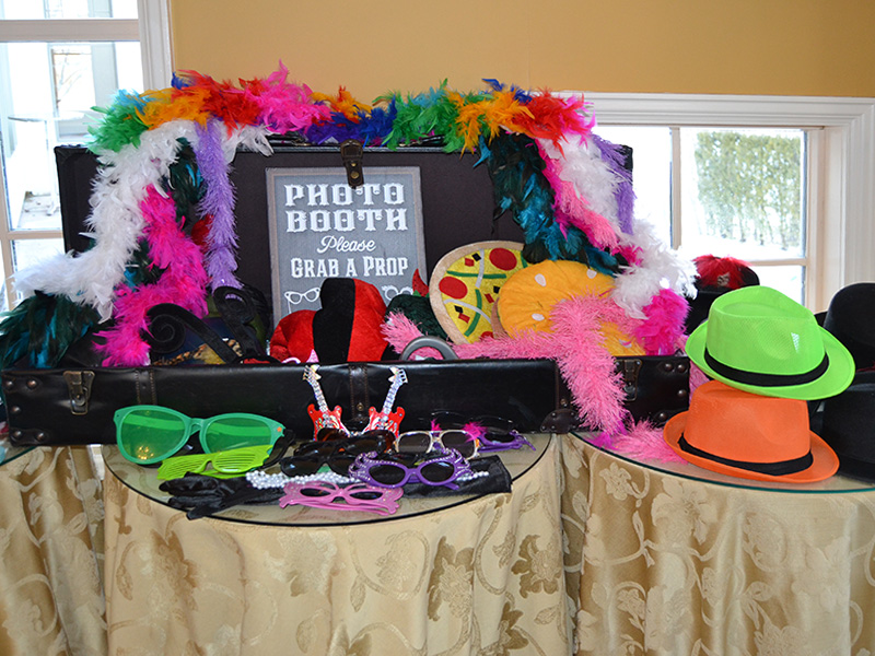Examples of Props at Wedding