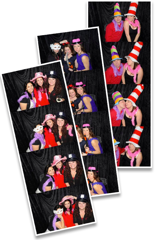 Photostrip Pictures of Party