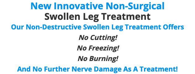 Swollen Leg Treatment NYC