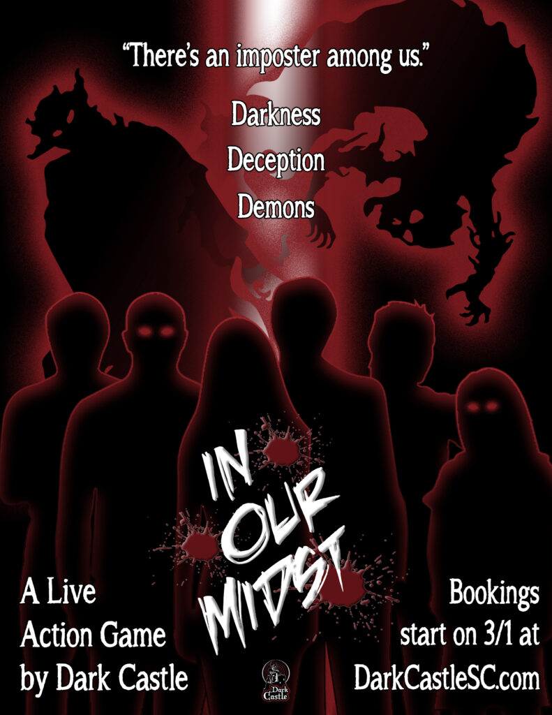 In Our Midst Live Action Game by Dark Castle Book Now