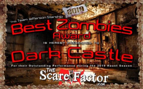 2019 Best Zombies Award
