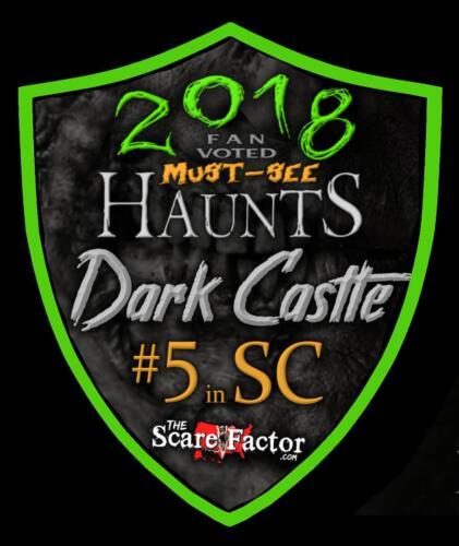 2018 Fan Voted Must See Haunts. #5 in SC.