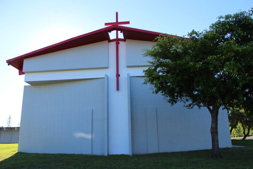 Holy Guardian Angels, Lantana Florida Front view