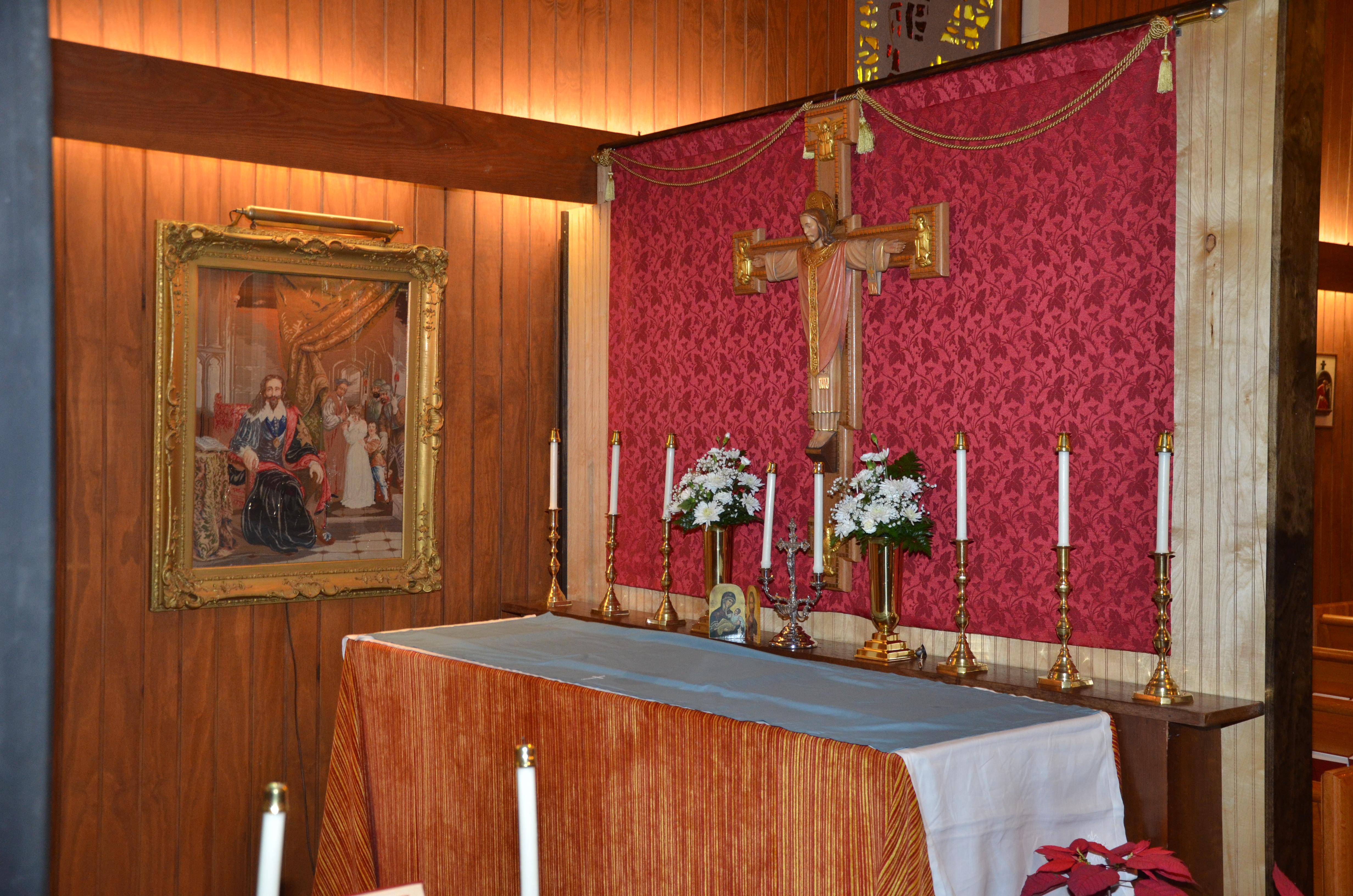 Charles the Martyr  Chapel Holy Guardian Angels, Lantana Florida