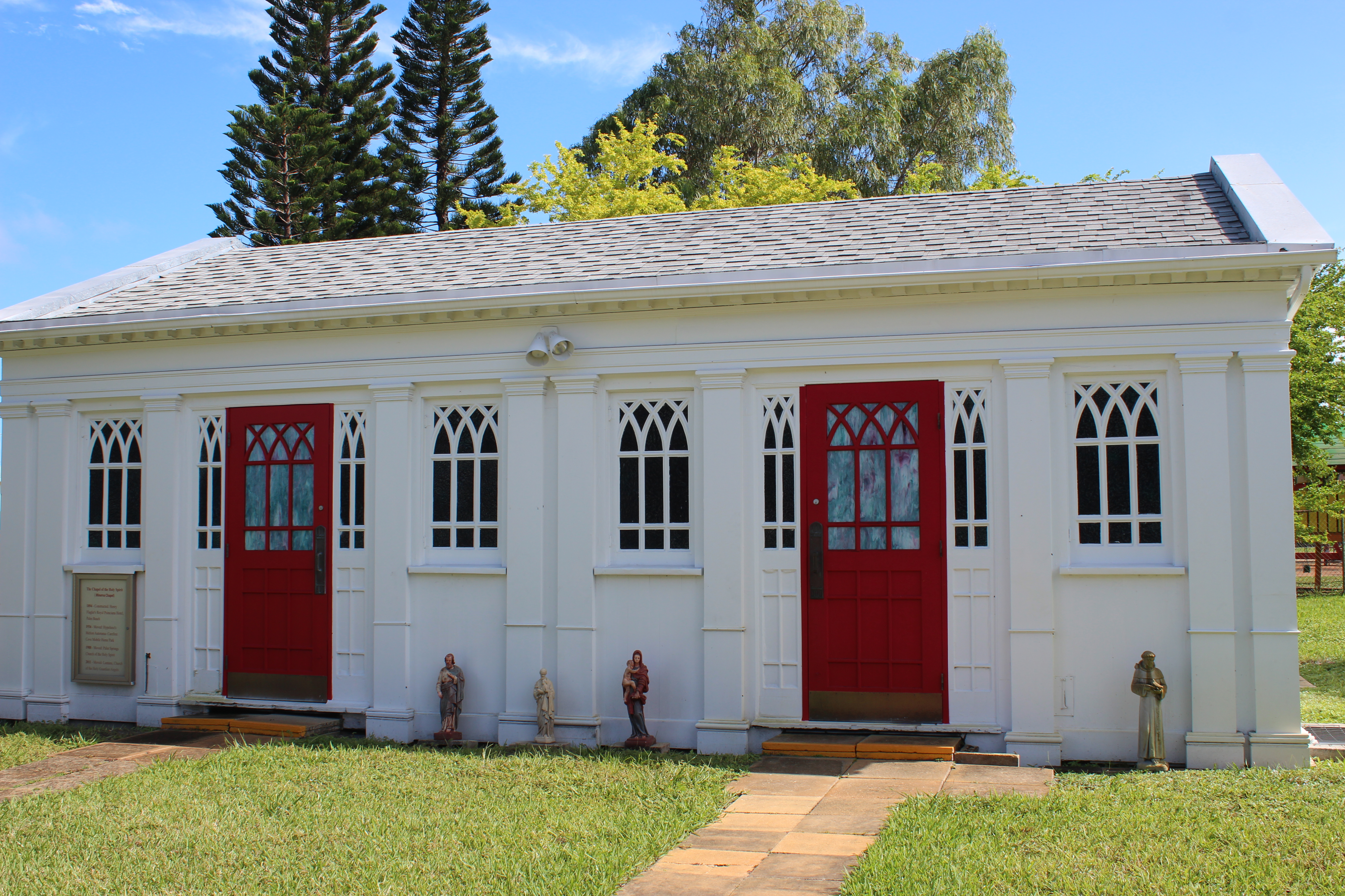 Holy Guardian Angels, Lantana Florida – The Chapel of the Holy Spirit