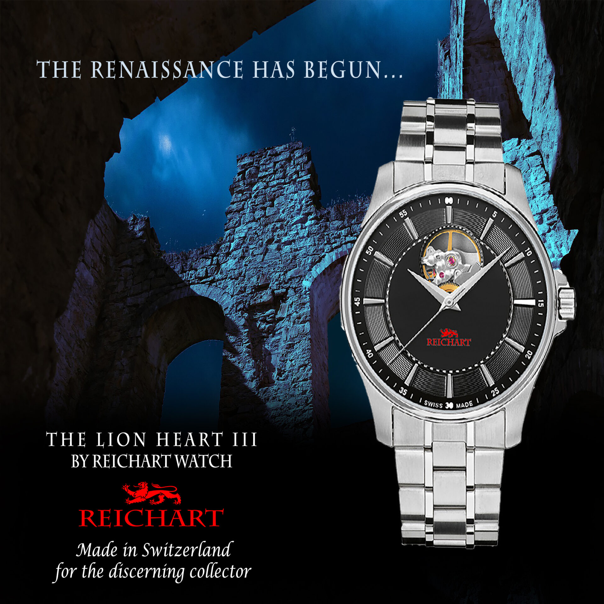 The Lion Heart III by Reichart Watch