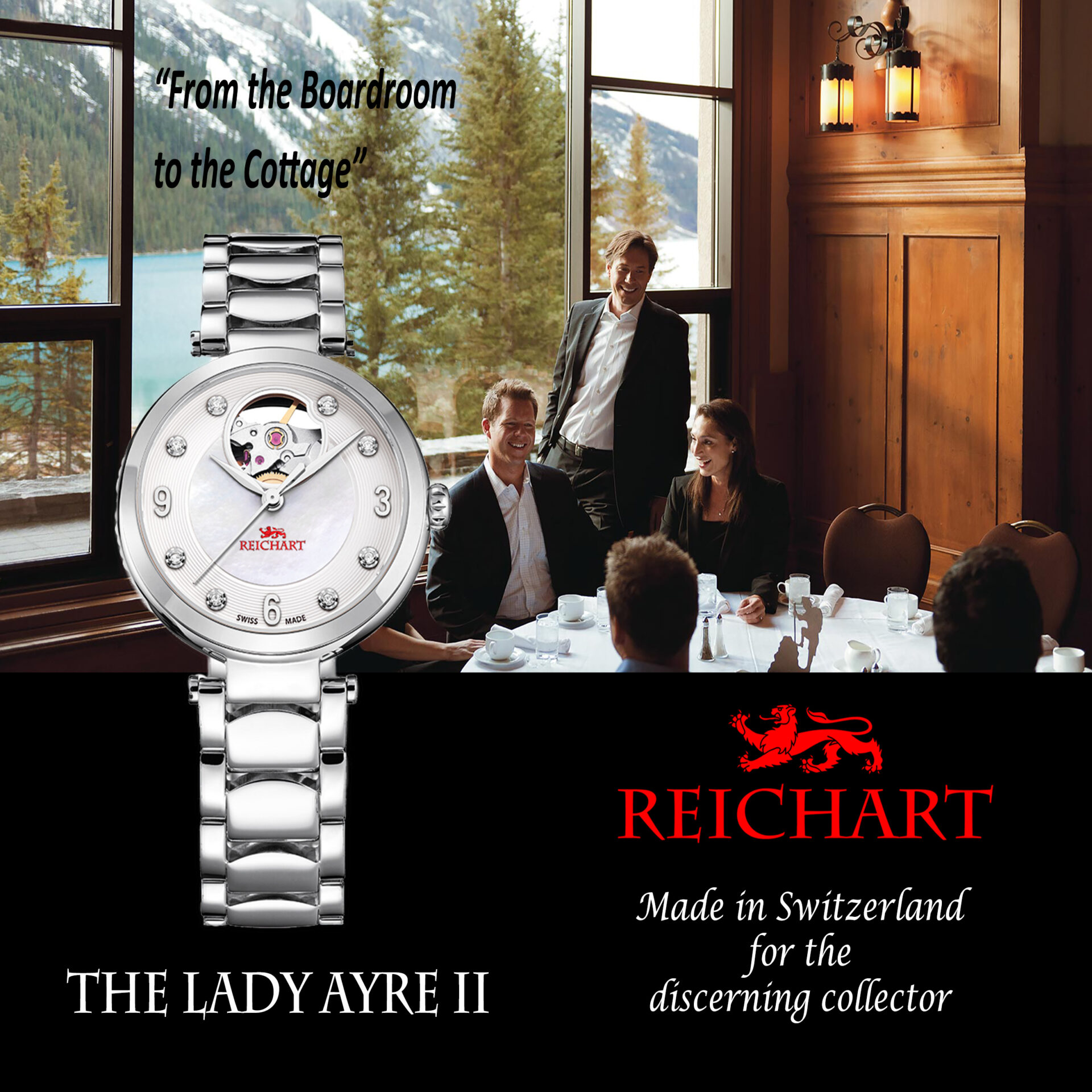 The Lady Ayre II by Reichart Watch