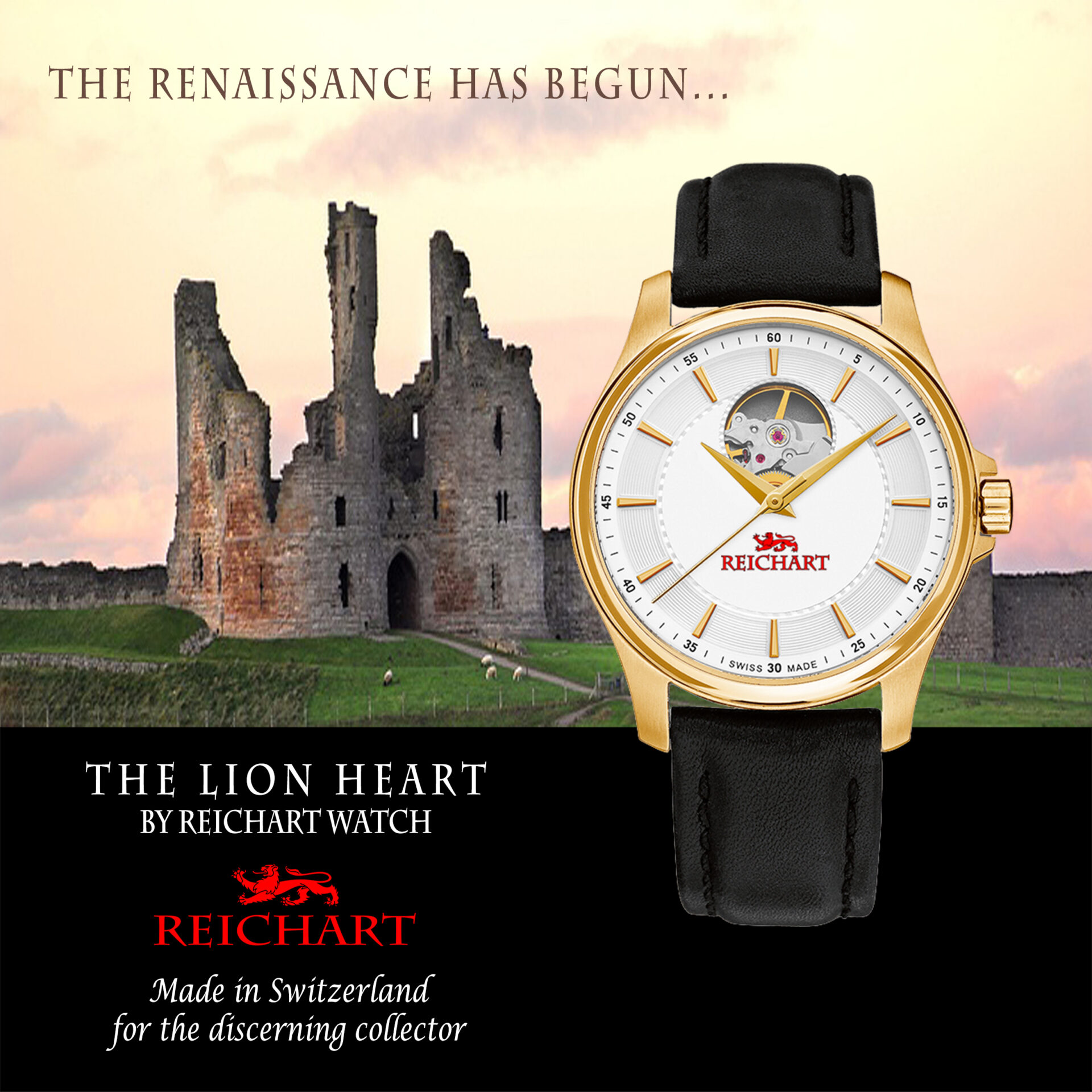 The Lion Heart by Reichart Watch