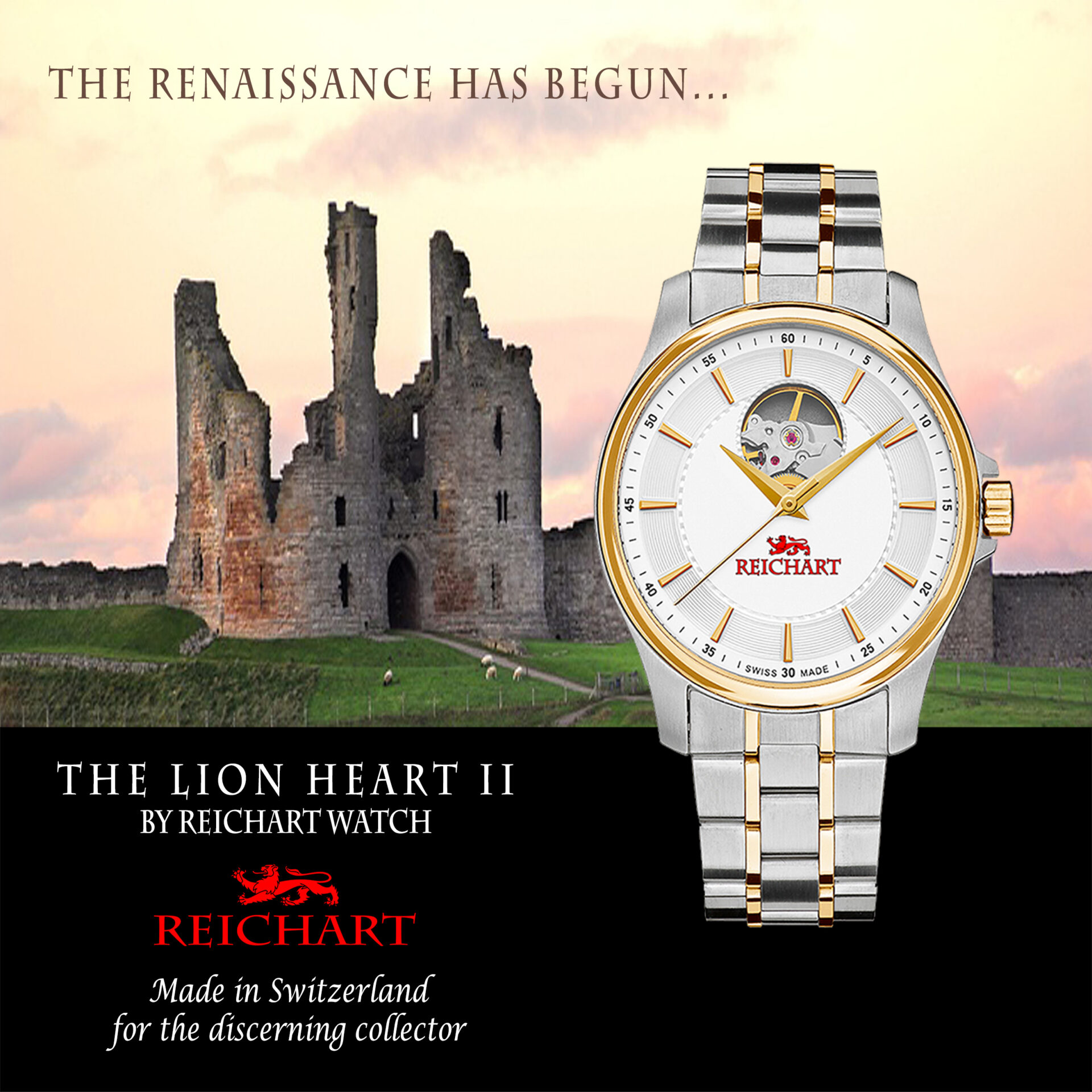 The Lion Heart II by Reichart Watch
