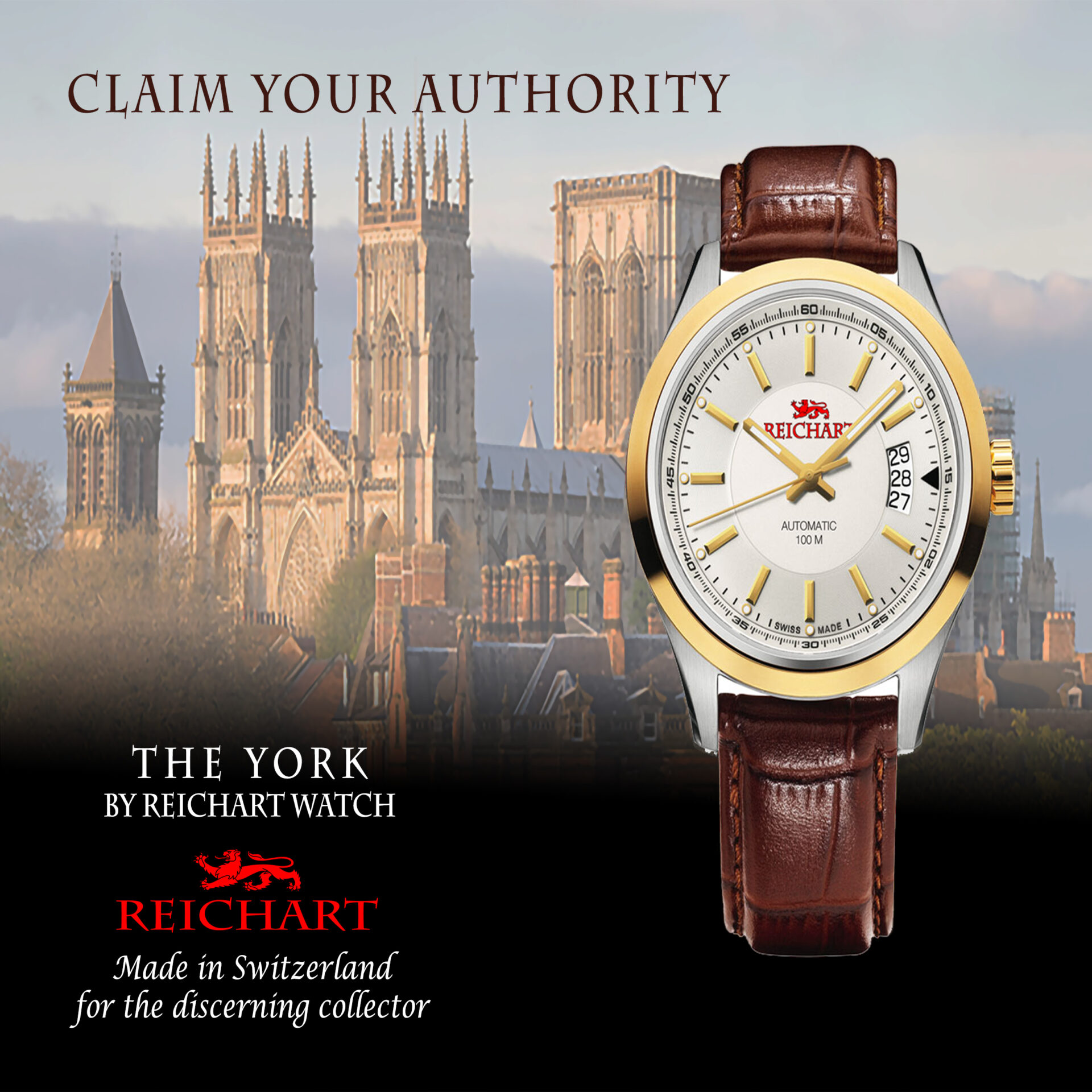 The York by Reichart Watch