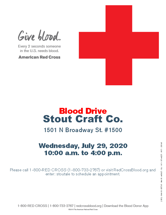 Blood Drive at Stout Craft Co.