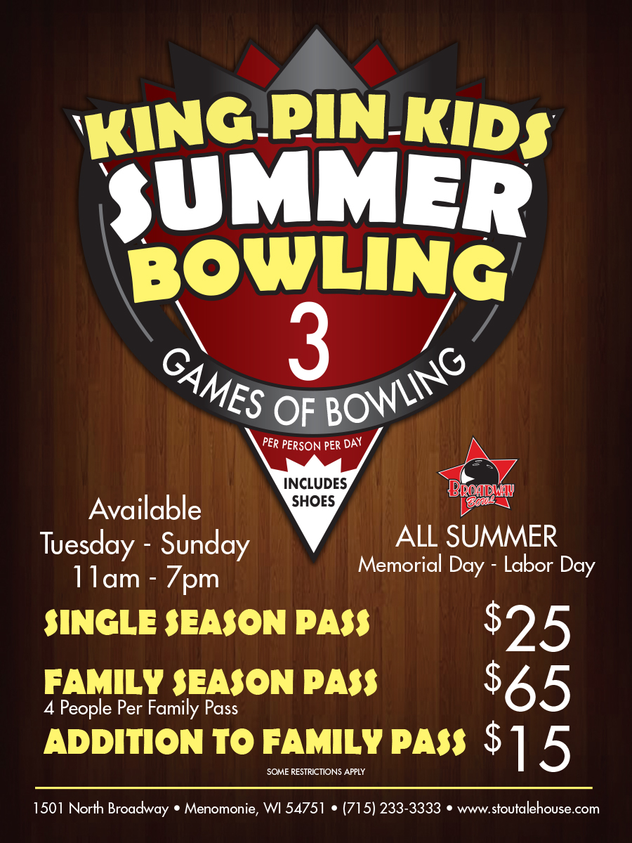 Kids Summer Bowling Special