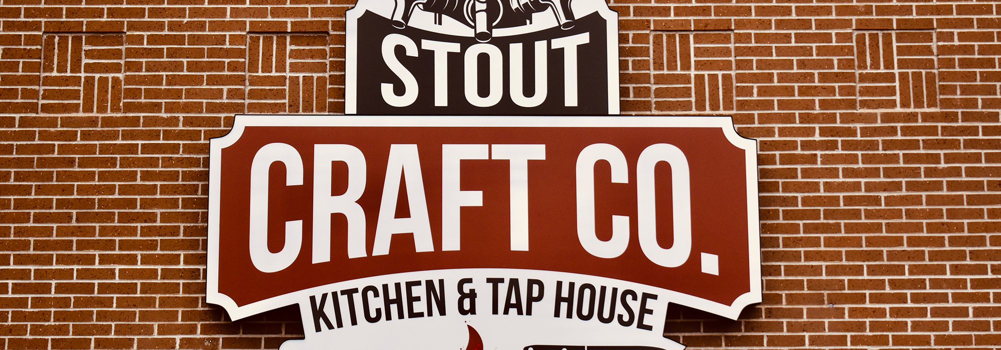 Stout Outdoor Sign