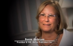 Donna Anderson President, Online Publisher Inc