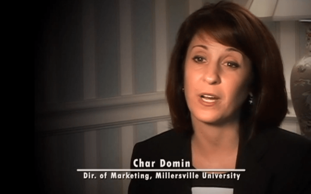 Char Domin, Director of Marketing at Millersville University