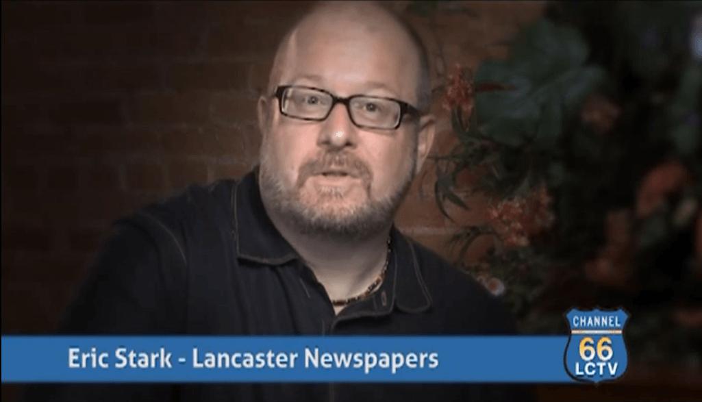 Eric Stark Lancaster Newspaper – Testimonial (LCTV 66)