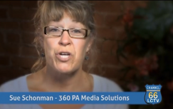 Sue Schonman – 360 PA Media Solutions Testimonial (LCTV 66)