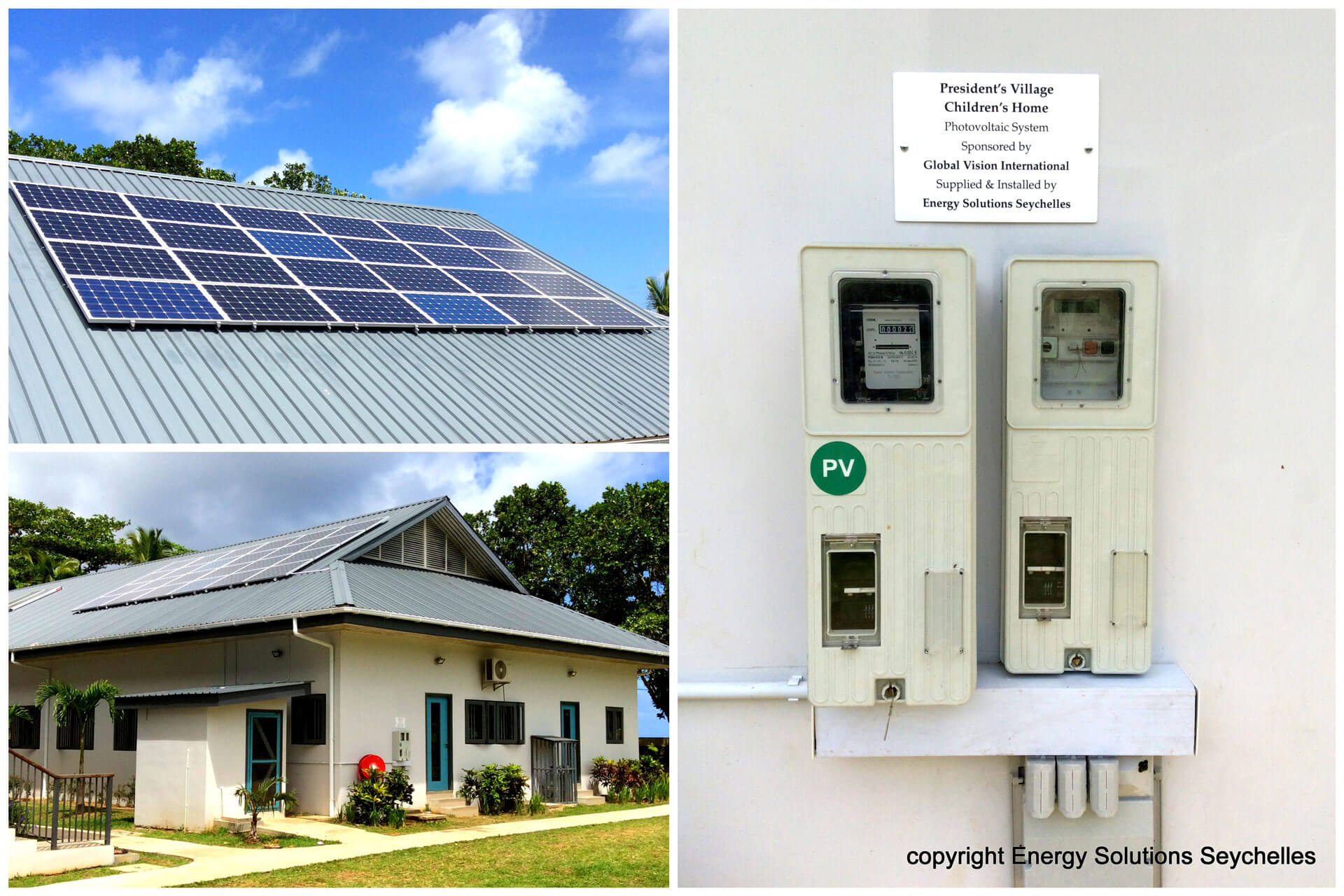 ESS Solar PV Installation Mahe Seychelles