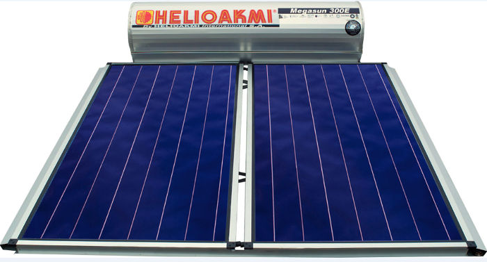 solar hot water roof mount system