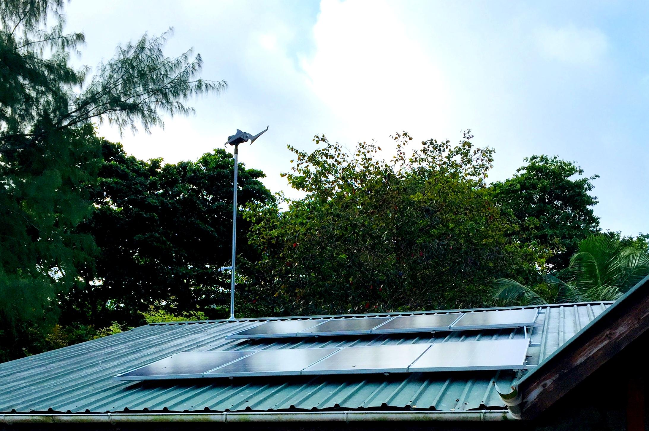 off-grid renewable energy Seychelles