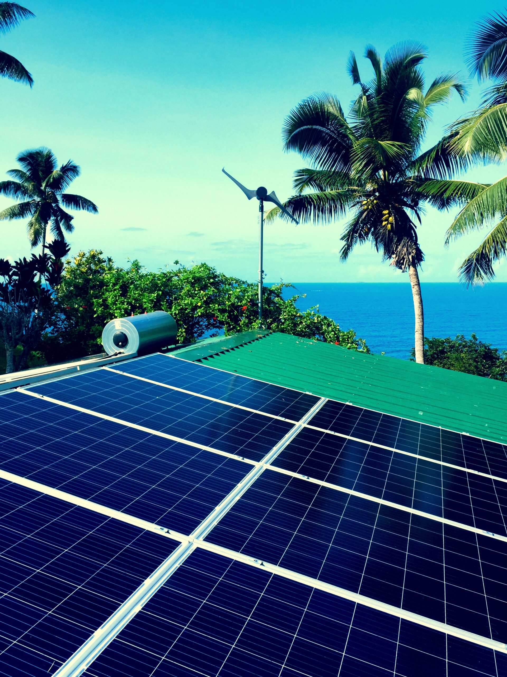 PV & solar hot water in Seychelles