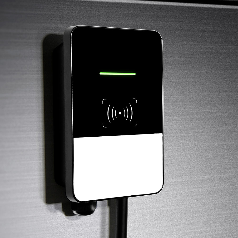 Wall mount EV charger