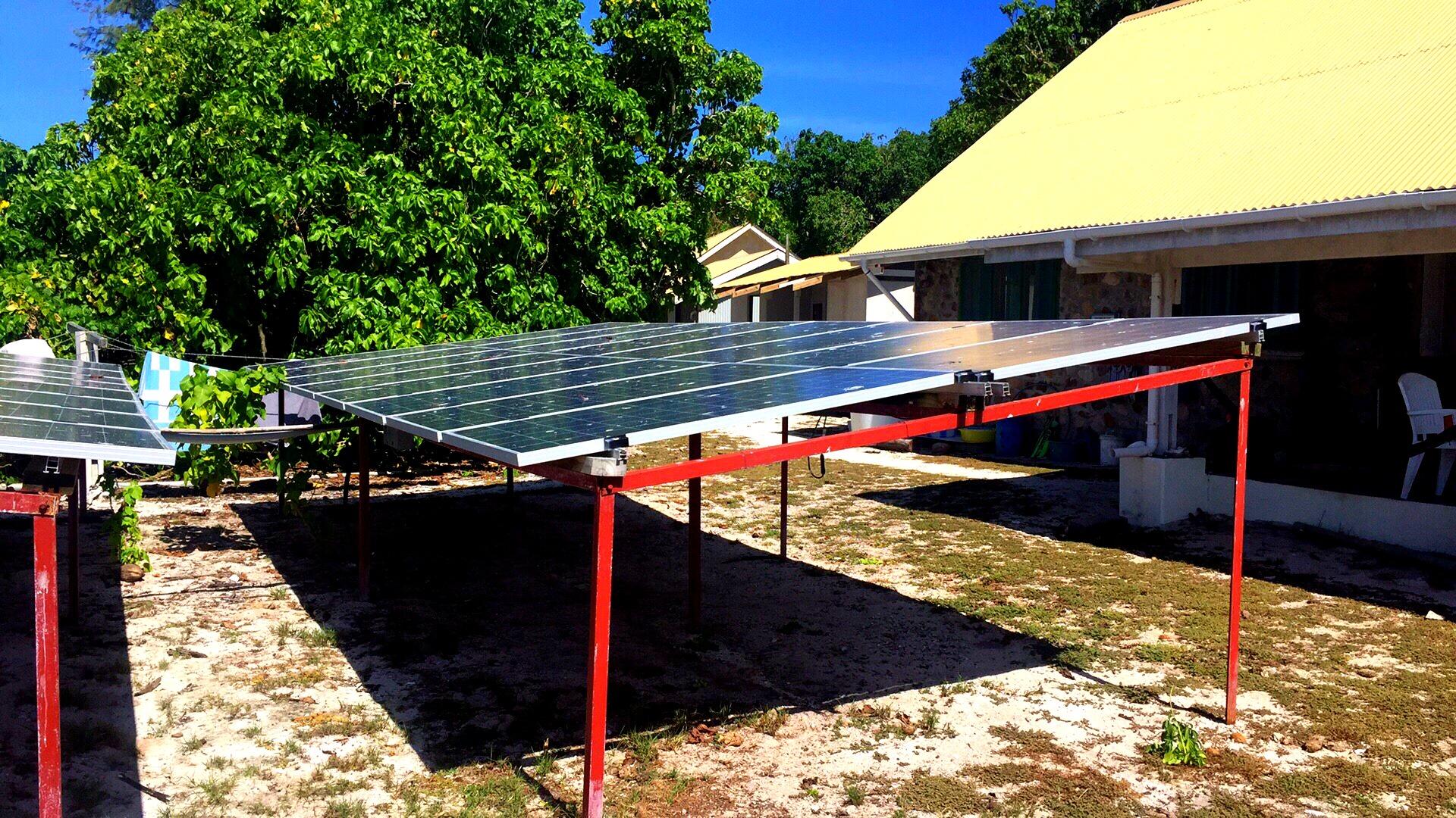 off-grid solar pv in Seychelles
